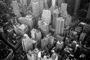 Underworld - New York picture in black and white