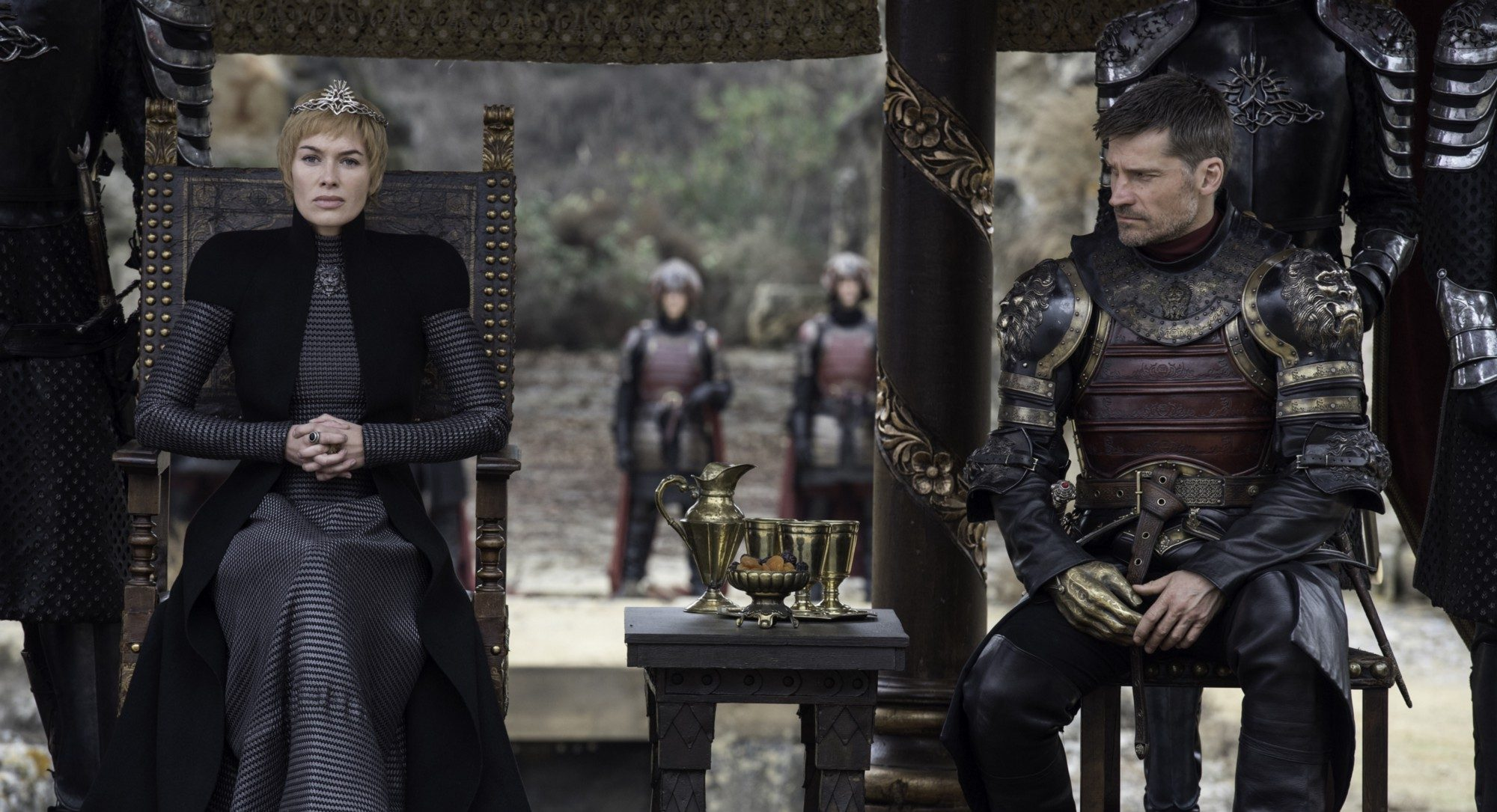 Game of Throne: Cersei with Jamie Lannister