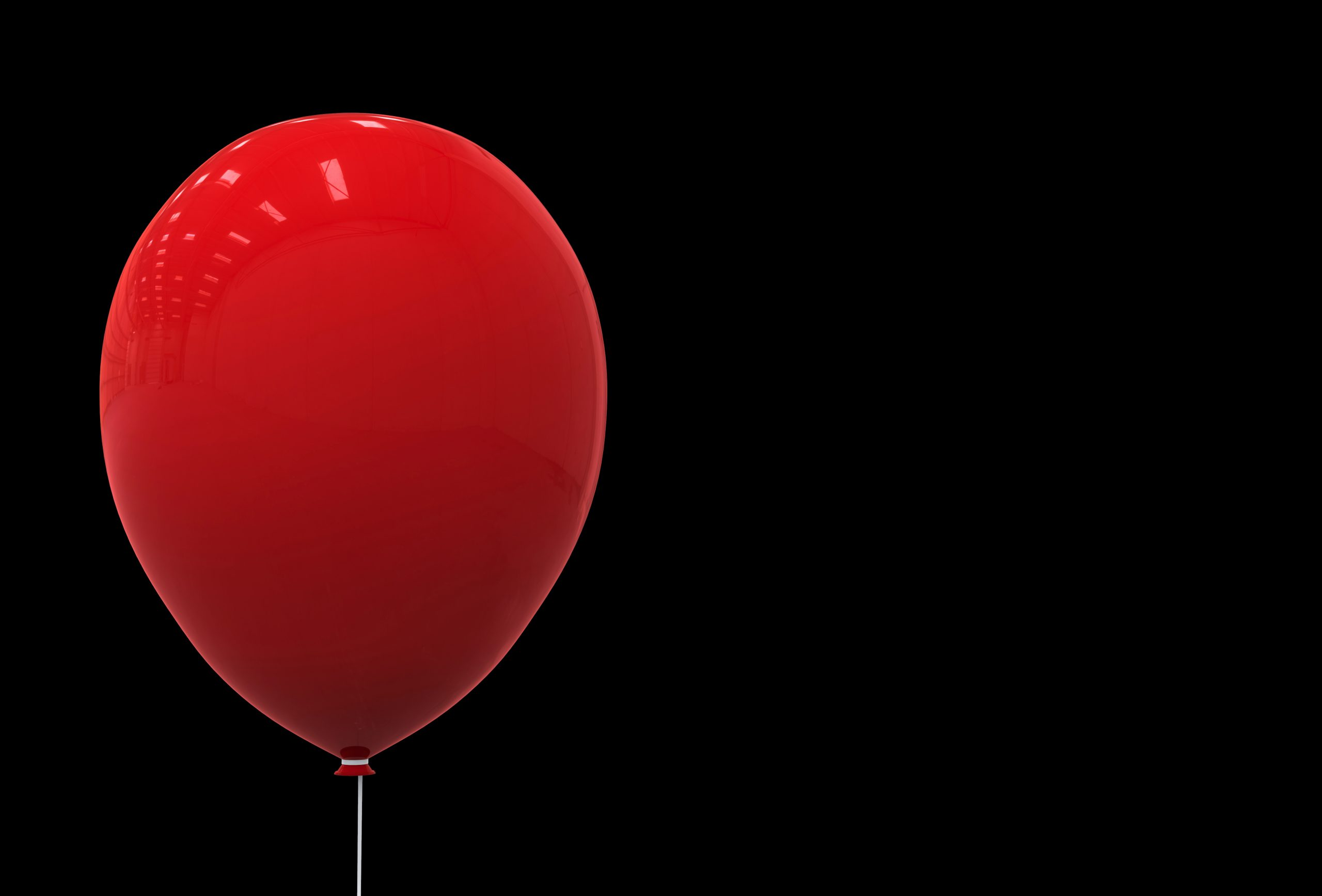 Stephen King It - A Big red balloon has become the symbol of the malevolent creature that the group of protagonists fight