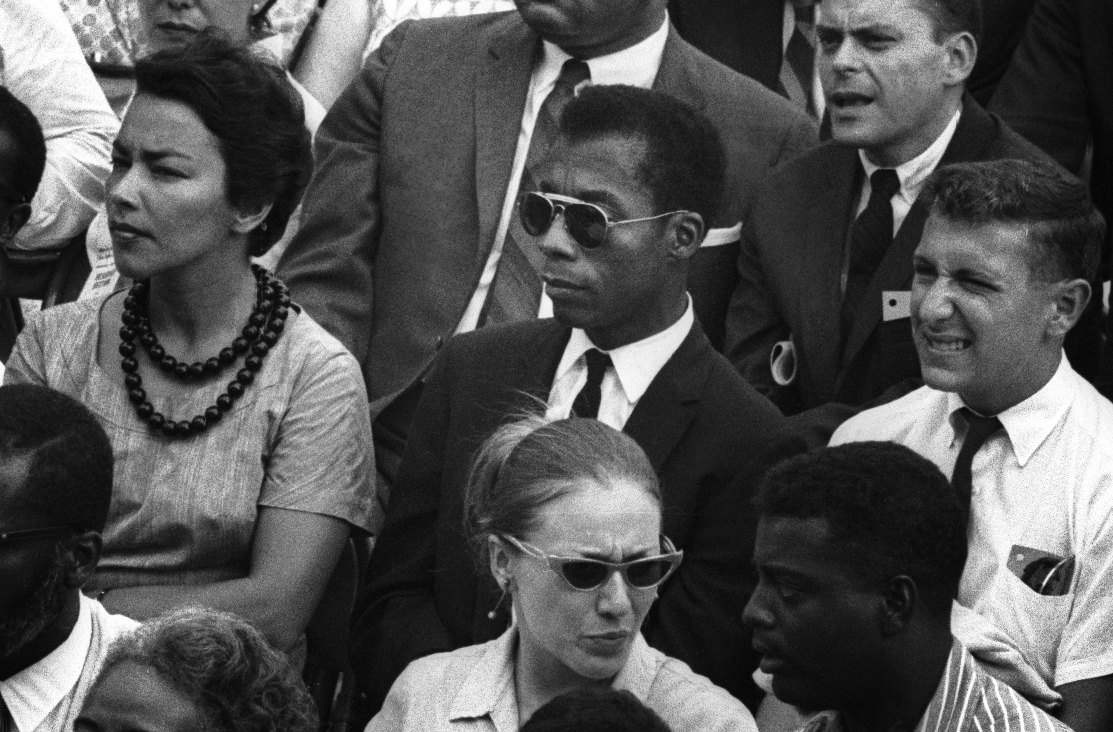 I Am Not Your Negro - Image of author James Baldwin in a Crowd