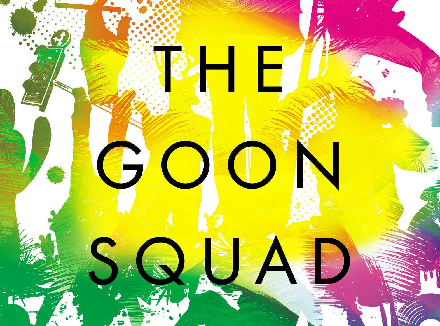 Hachette cover of a Visit From the Goon Squad, Jennifer Egan
