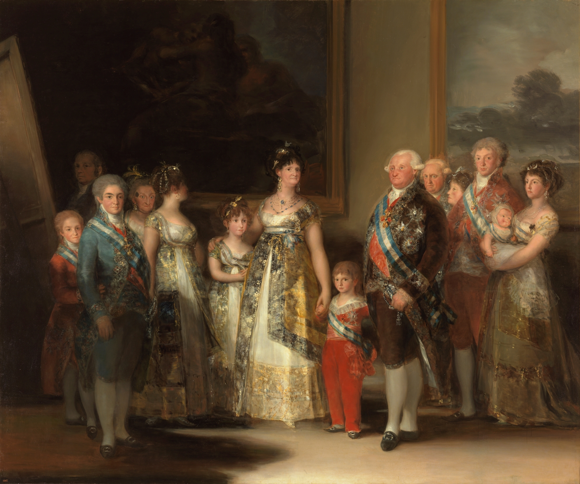 Charles IV of Spain and His Family, Francisco Goya's painting