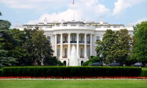 Wag the Dog - A photo of the front of the White House