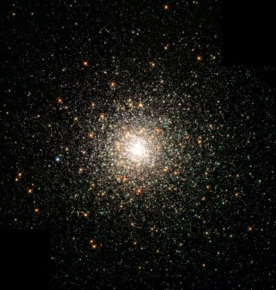 Center of a star cluster - topic covered in Seven Brief Lessons on Physics