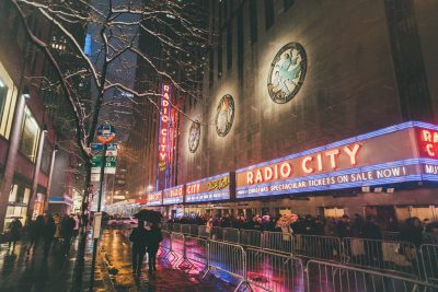 Fever to Tell - The Radio City Hall, New York City, where Yeah Yeah Yeahs played in 2009
