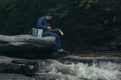 I Know This Much is True - Dominick is sitting on the edge of a waterfall and reads the notes his mother gave him about the story of his grandfather