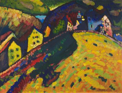 Houses at Murnau - Kandinsky Artwork