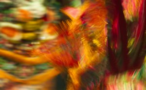 Muses and women celebration | Polyhymnia - A colors dance