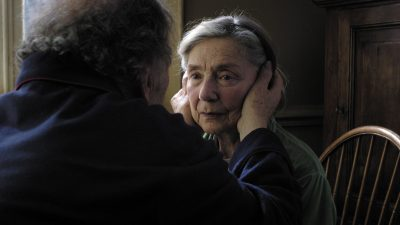 Emmanuelle Riva in Amour by Michael Haneke