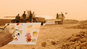 Francis Alÿs Color Matching. The artist as a witness