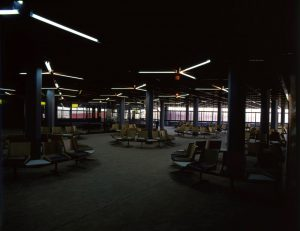 Ambient 1: Music for Airports. In close relation with space - An Interior view of Yeşilköy airport
