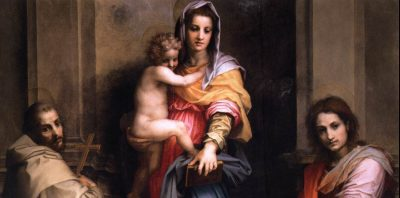 Madonna of the Harpies, by Andrea del Sarto, Uffizi, Florence
