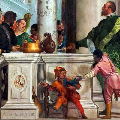 The Feast in the House of Levi - A detail