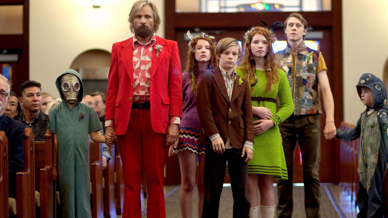 A scene from Captain Fantastic