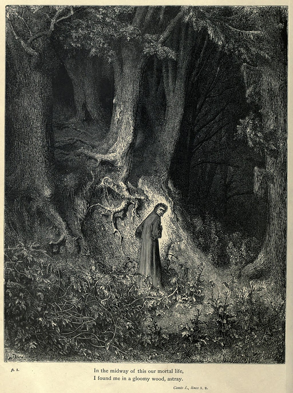 Doré and the horror vacui in Dante's Divine Comedy - An illustration