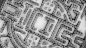A maze is a house built purposely to confuse men