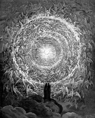 Doré and the horror vacui in Dante's Divine Comedy - An illustration from Paradiso