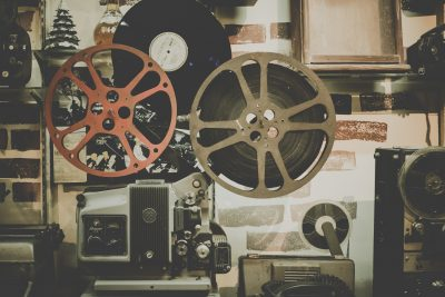 Film and projectors in an archive