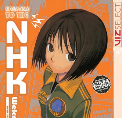 Welcome to the NHK!   Paranoia and Hikikomori - A detail of the first cover