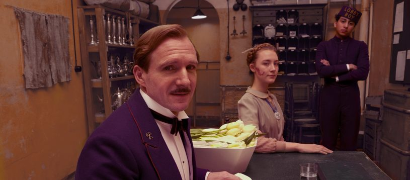 Grand Budapest Hotel | A romantic adventure in a fairy tale world - Monsieur Gustave H., Agatha and Zero