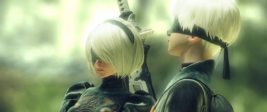 NieR: Automata 2B and 9S