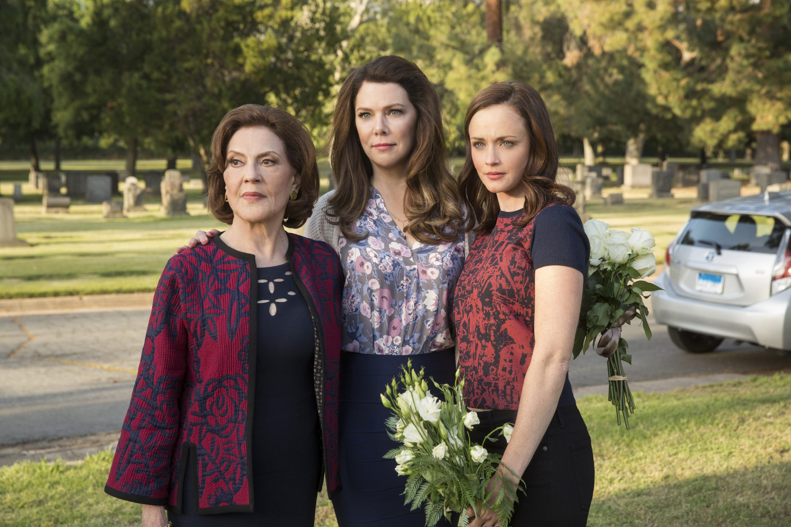Emily, Lorelai and Rory. The Gilmore Girls