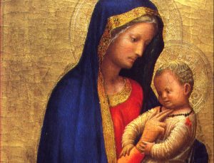 Madonna del Solletico | The magic of the first laughter - A detail