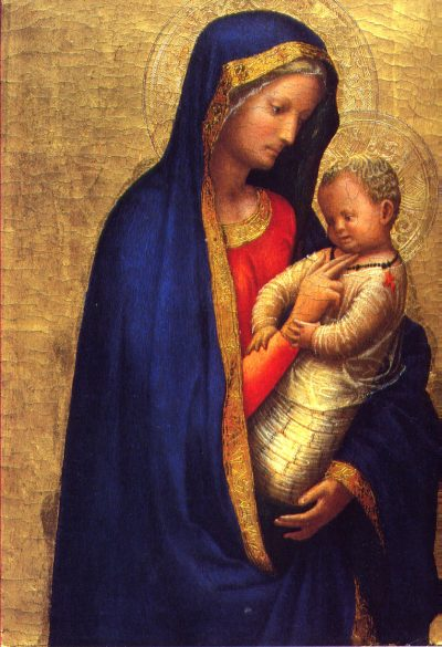 Madonna del Solletico | The magic of the first laughter